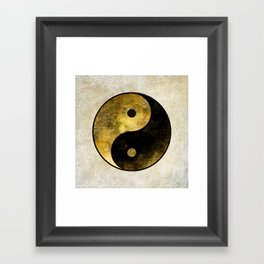 Yin and Yang Framed Art Print