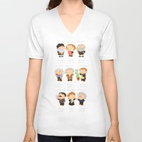 science V-neck T-shirts featuring science by Alapapaju