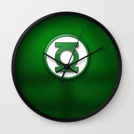 Green Lantern Suit Wall Clock