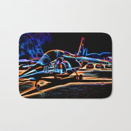 Neon Jet Bath Mat