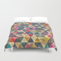 grunge Duvet Covers featuring Grunge HG by thinschi