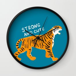 Strong and Cute Wall Clock