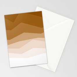 Earth Waves Astract Stationery Cards