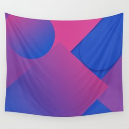 Gradient Graphic Pattren Wall Tapestry