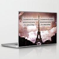 hemingway Laptop & iPad Skins featuring Ernest Hemingway by Dan99