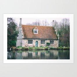 Bourne Mill Art Print