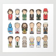 Robin Williams  Art Print