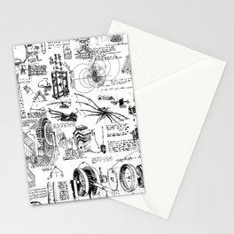 Da Vinci's Sketchbook Stationery Cards