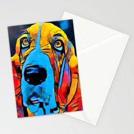 Basset Hound Stationery Cards