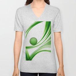 Green 113 Unisex V-Neck
