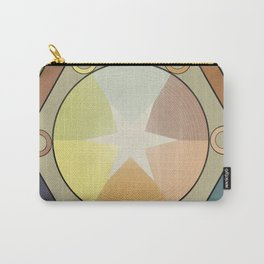 Babbitt's Chromatic Harmony of Gradation and Contrast, 1878, Remake, Vintage Wash Carry-All Pouch