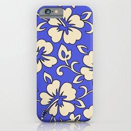 Malia Hawaiian Hibiscus Aloha Shirt Print iPhone Case