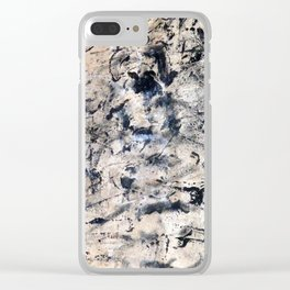 Accumulated Paint 2 Clear iPhone Case