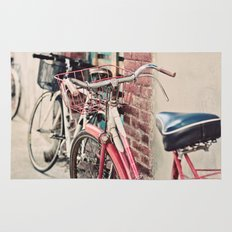 Bicycles Rug