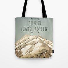 Mount Taranaki Tote Bag