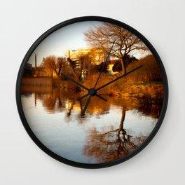 Viborg by the lake Wall Clock
