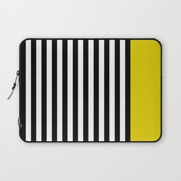 Liquorice allsorts, yellow Laptop Sleeve