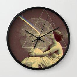 Full Moon Awakening Wall Clock