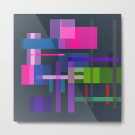Imitation Mid-20th Century Abstraction, No. 3 Metal Print