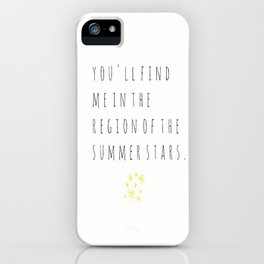 Walking in the Wind iPhone Case