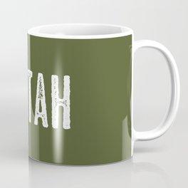 Deer: Utah Coffee Mug