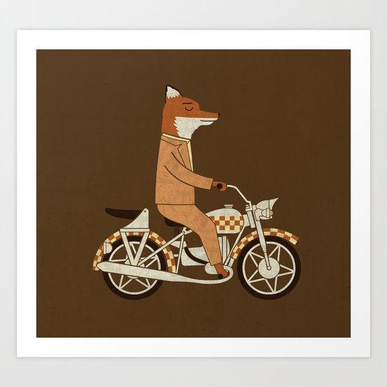 Wild Raider Art Print