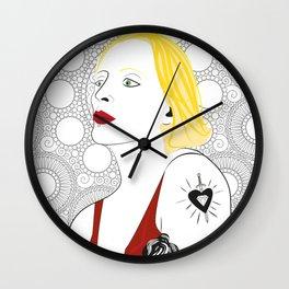 """Tamara de Lempicka"" Wall Clock"