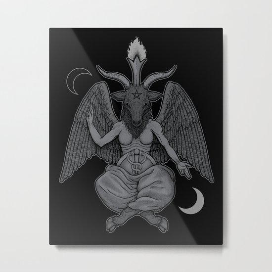 Baphometh Metal Print