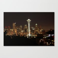 Simply Seattle Canvas Print