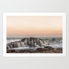 Crashed Wave Art Print