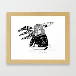 Lu's Workshop Framed Art Print