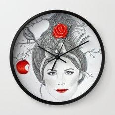 Snow White II Wall Clock