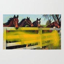 Untitled (Horses) Rug
