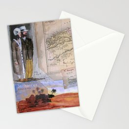 KIT AND PORT (THE SHELTERING SKY) Stationery Cards
