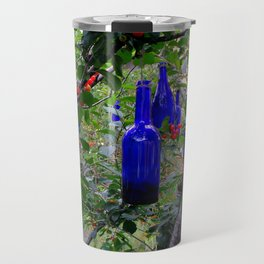 When Blue Bottles Fly Travel Mug