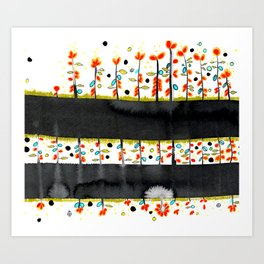 so many flowers Art Print