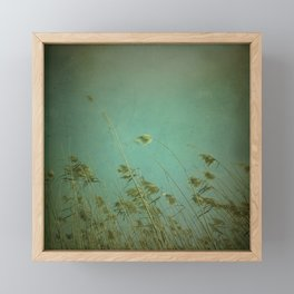 When the wind blows Framed Mini Art Print