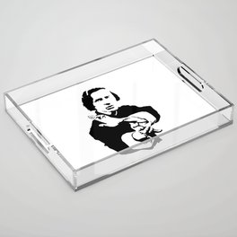 Chopin Fighter Acrylic Tray