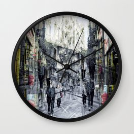 Wednesday 9 October 2013: Further thoughts on repetive pattern coincidences. Wall Clock