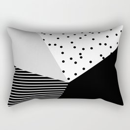 Geometry Blocks 10 Rectangular Pillow