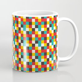 Pixel Tiles #2 Coffee Mug