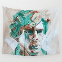sherlock Wall Tapestries featuring Sherlock by Dan Olivier-Argyle