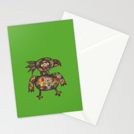 The Green Parrot Stationery Cards