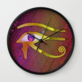 Eye of Ra Wall Clock