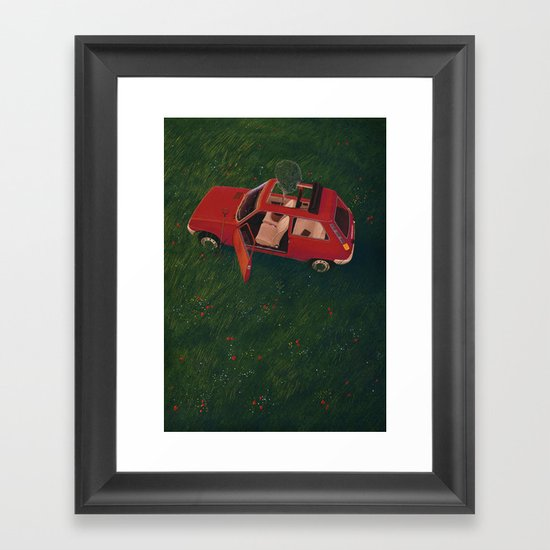 I'll Be Back In 20 Years Framed Art Print
