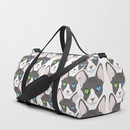 Odd-Eyed Sphinx Duffle Bag