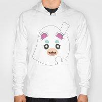 animal crossing Hoodies featuring Animal Crossing Flurry by ZiggyPasta