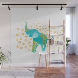 Lucky Elephant – Magic Villa Wall Mural