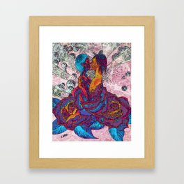 Incidental Congruence Remix Framed Art Print