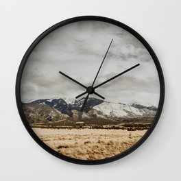 Great Sand Dunes National Park - Mountains II Wall Clock